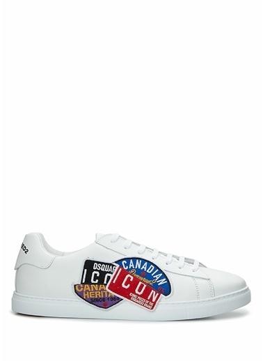 Dsquared2 Dsquared2 Canadian Icon New Tennis  Erkek Sneaker 101622857 Beyaz